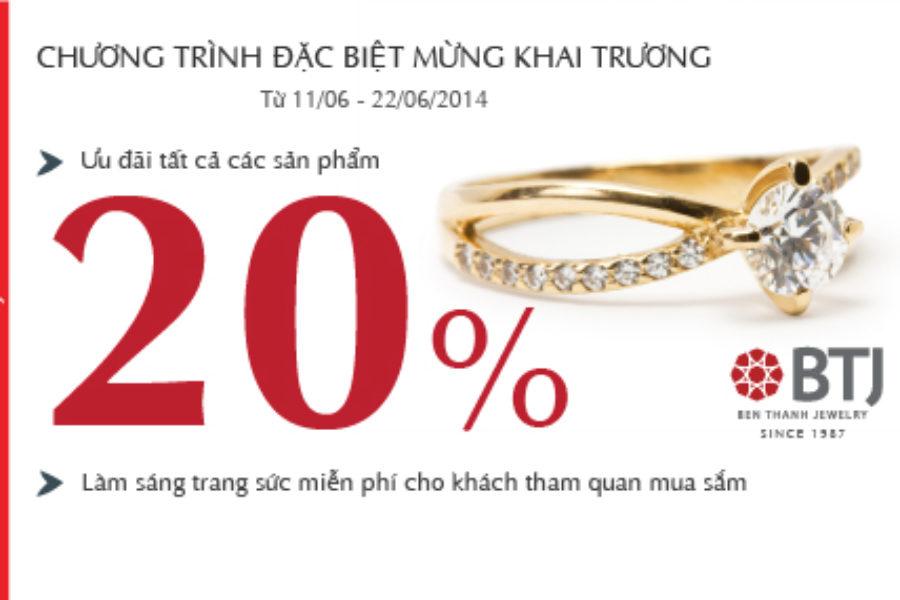 BTJ khai trương Cửa hàng tại TTTM Parkson Lê Thánh Tôn
