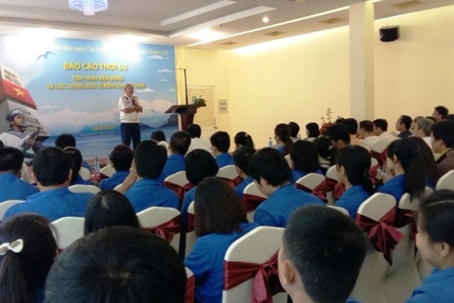 Báo cáo thời sự tình hình biển Đông và lực lượng bảo vệ biển của Việt Nam