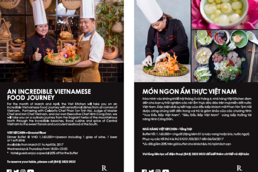 Renaissance Riverside Hotel Saigon giới thiệu món ngon ẩm thực Việt Nam