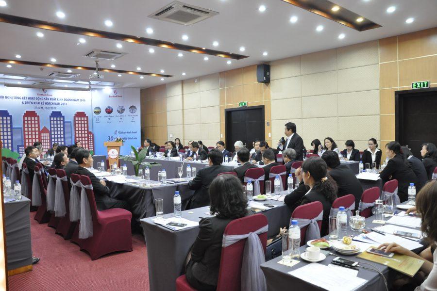 Hội nghị tổng kết hoạt động sản xuất kinh doanh năm 2016, triển khai kế hoạch năm 2017