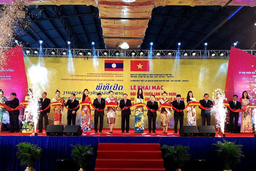 Benthanh Group tham dự Hội Chợ Việt – Lào 2017