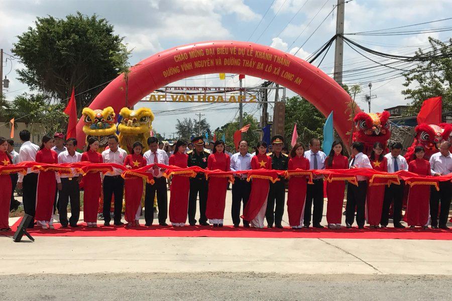 Benthanh Group tham dự Khánh thành công trình đường Vĩnh Nguyên, huyện Cần Giuộc, tỉnh Long An