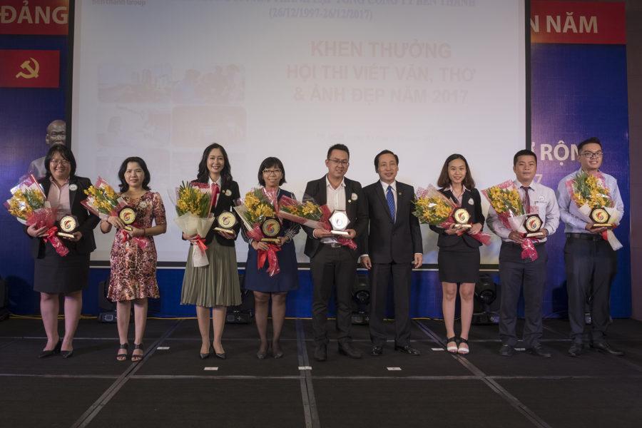 Benthanh Group trao giải thưởng Hội thi viết, ảnh đẹp kỷ niệm 20 năm thành lập