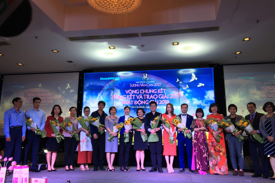 Benthanh Group tài trợ giải thưởng Tài năng Lương Văn Can