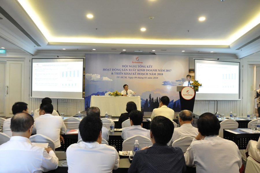 Hội nghị tổng kết công tác sản xuất kinh doanh năm 2017 – triển khai kế hoạch năm 2018