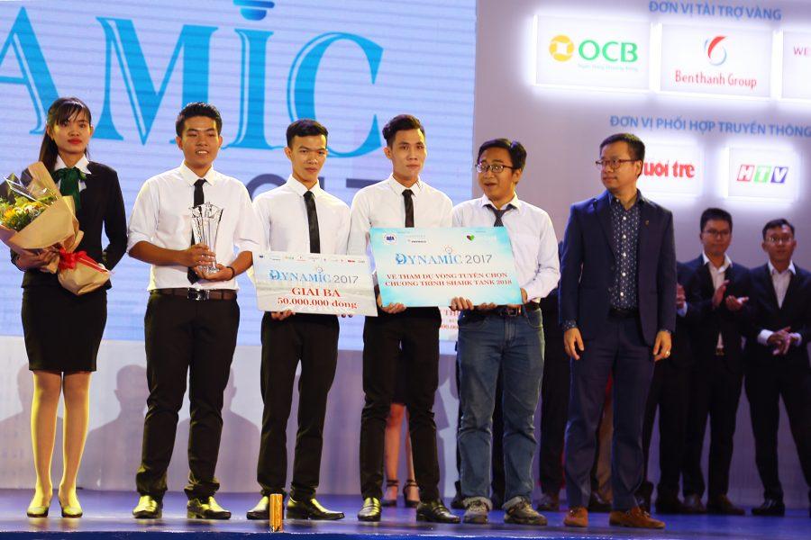 """Benthanh Group – nhà tài trợ vàng cuộc thi """"DYNAMIC – Sinh viên nhà doanh nghiệp tương lai"""" năm 2017"""