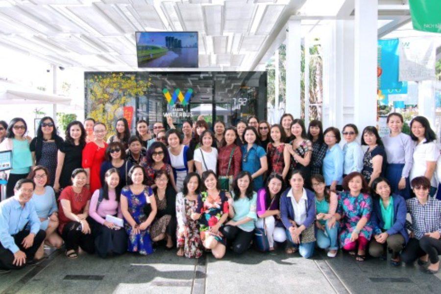 Ban nữ công – Công đoàn Tổng Cty tổ chức chương trình giao lưu nữ cán bộ công đoàn và tuyên dương khen thưởng phụ nữ hai giỏi Tiêu Biểu 5 năm (2013-2017)