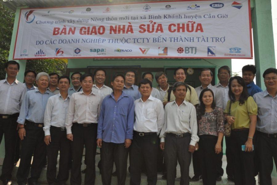 Tổng Công ty thực hiện xóa nhà tạm theo chương trình Xây dựng Nông thôn mới
