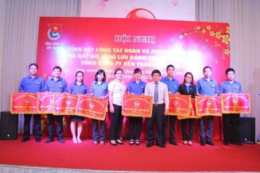 Hội nghị Tổng kết công tác Đoàn và gặp gỡ, tuyên dương Đảng viên trẻ tiêu biểu 2014