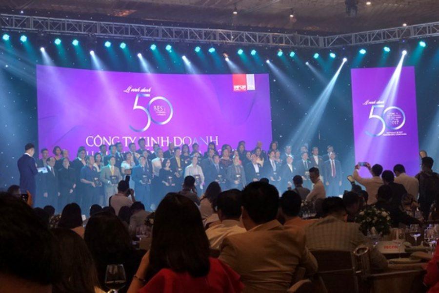 Benthanh Group tham dự chương trình Top 50 Công ty Kinh doanh hiệu quả nhất Việt Nam 2018