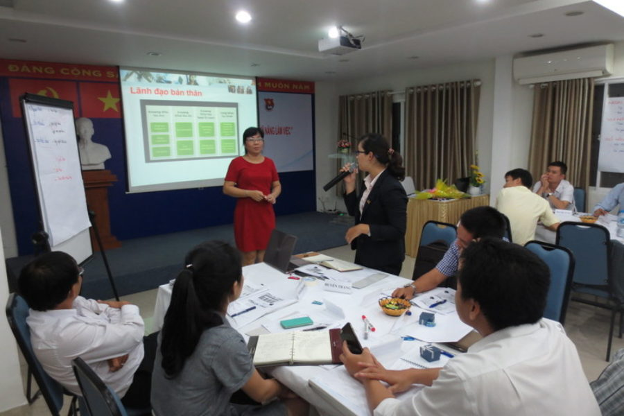 Đoàn Tổng Công ty Bến Thành tổ chức lớp tập huấn cán bộ Đoàn năm 2015