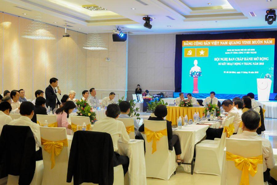 Benthanh Group tổ chức Hội nghị Ban Chấp hành Đảng bộ mở rộng sơ kết hoạt động 9 tháng đầu năm 2018 và họp mặt kỷ niệm ngày Doanh nhân Việt Nam