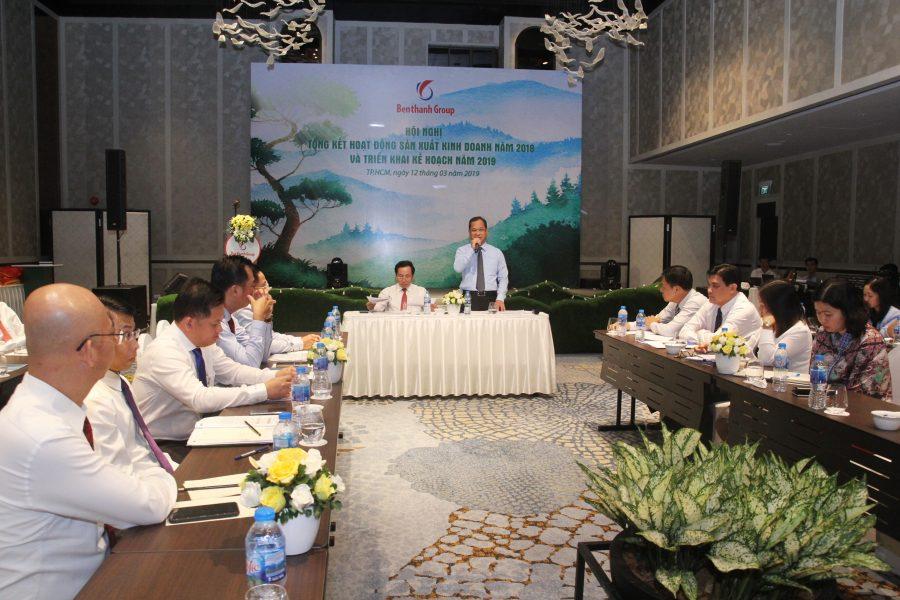 Tổng Công ty Bến thành tổ chức Hội nghị  Tổng kết hoạt động sản xuất kinh doanh năm 2018 và triển khai kế hoạch năm 2019