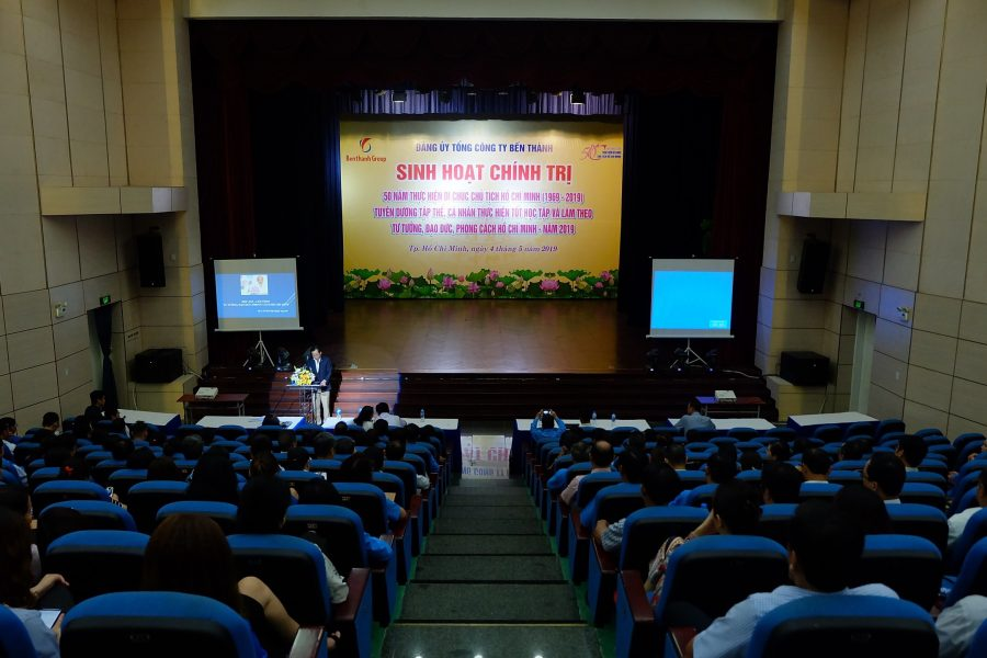 Đảng bộ Tổng Công ty Bến Thành tổ chức sinh hoạt chính trị kỷ niệm 50 năm thực hiện Di chúc Chủ tịch Hồ Chí Minh