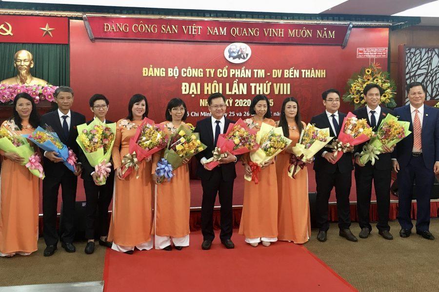 Đảng bộ Công ty Cổ phần TMDV Bến Thành tổ chức thành công Đại hội lần thứ VIII, nhiệm kỳ 2020-2025