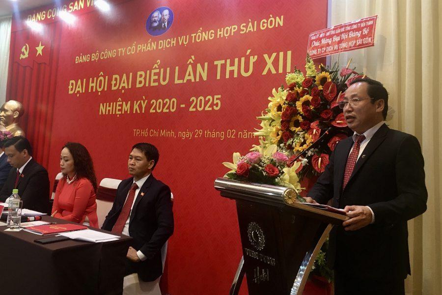 Đảng bộ Công ty Cổ phần Dịch vụ Tổng hợp Sài Gòn tổ chức thành công Đại hội lần thứ VII, nhiệm kỳ 2020-2025