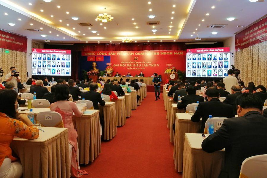 Tổng Công ty Bến Thành tổ chức thành công Đại hội Đại biểu Đảng bộ lần thứ V (Nhiệm kỳ 2020 – 2025)